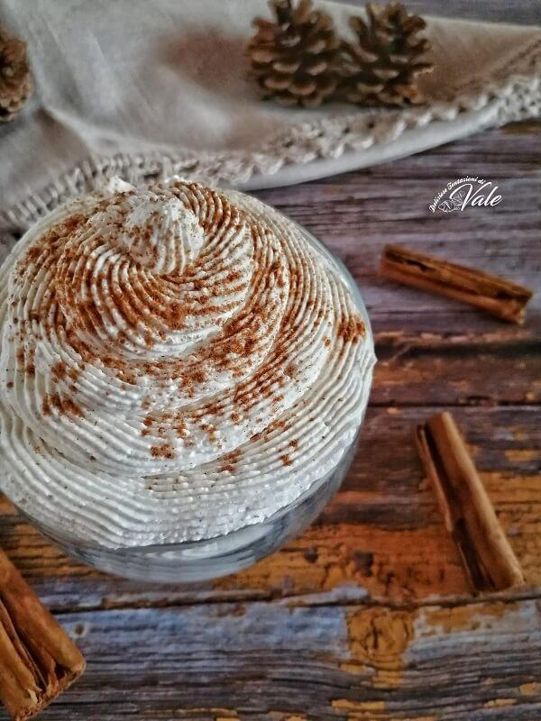 Crema alla Cannella Senza cottura ricetta veloce
