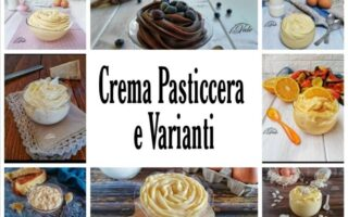 Crema pasticcera e Varianti
