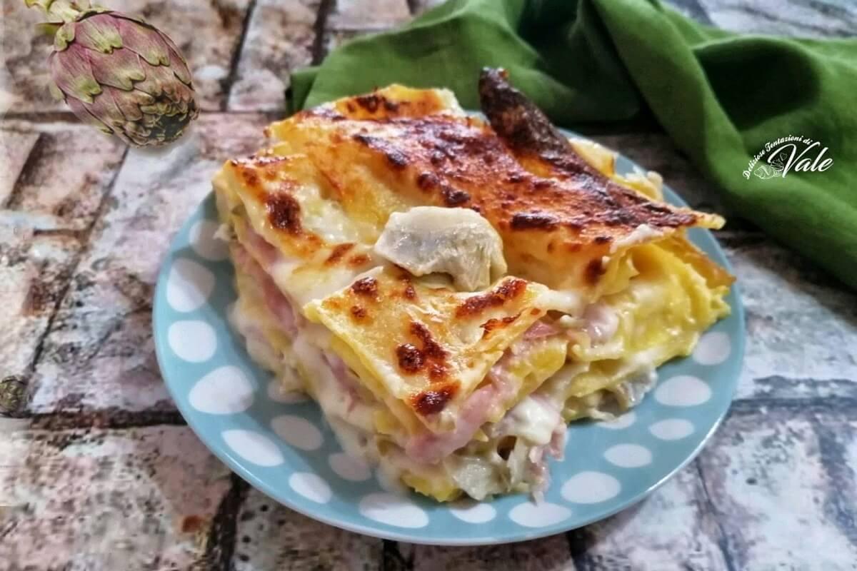 Lasagna ai Carciofi Bianca