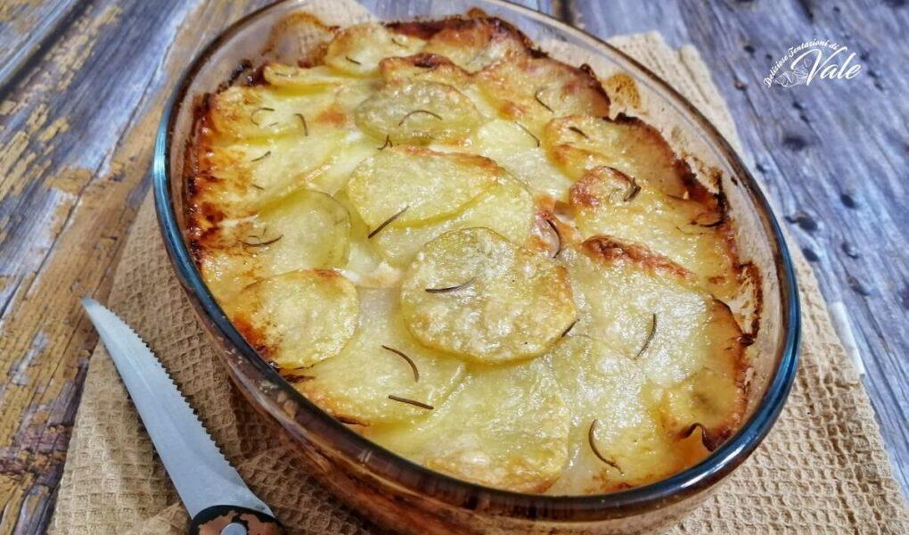 Parmigiana Bianca di Patate