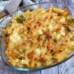 Pasta Gratinata con Broccoli e Mozzarella