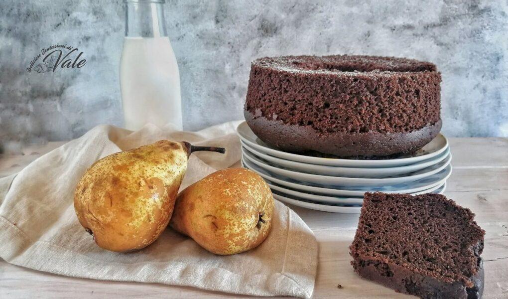 Chiffon Cake Cioccolato e Pere