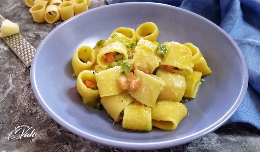 Paccheri con Carote e Zucchine