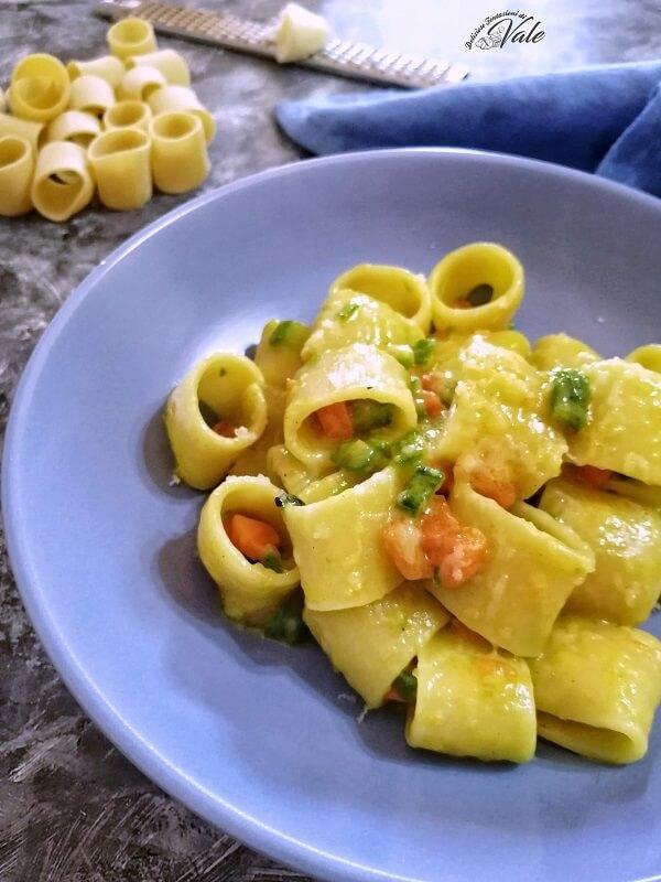 Paccheri con Zucchine e Carote
