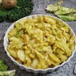 Patate e Verza in Padella