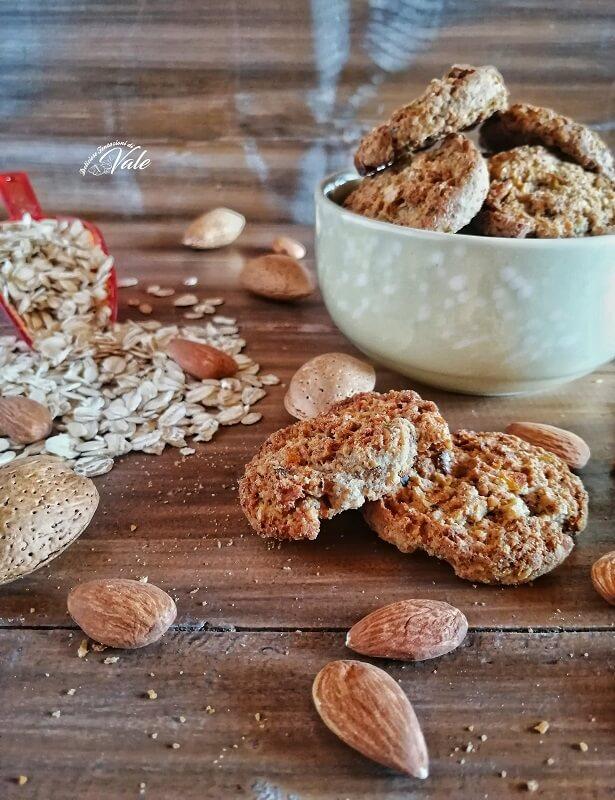 Biscotti Furbi con Avena e Mandorle