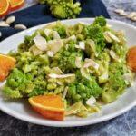 Broccolo Romanesco con Mandorle e Arance
