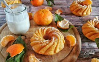Ciambelle alle Clementine e Yogurt