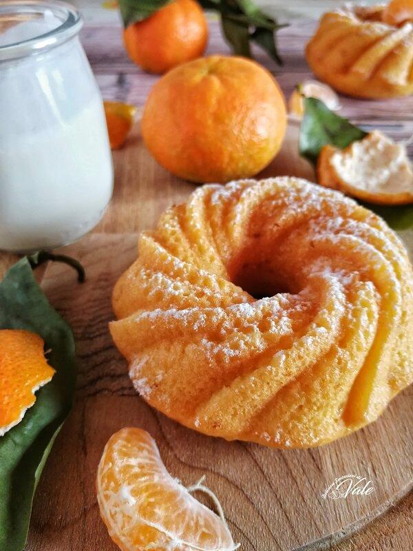 Ciambelle alle Clementine e Yogurt senza burro