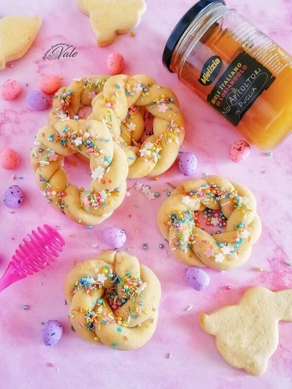 Ciambelline al Miele, biscotti di Pasqua