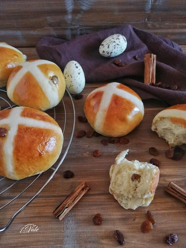 Hot Cross Buns ricetta