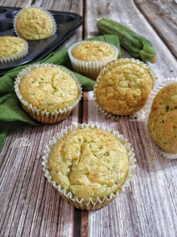 Muffin alle Zucchine sofficissimi