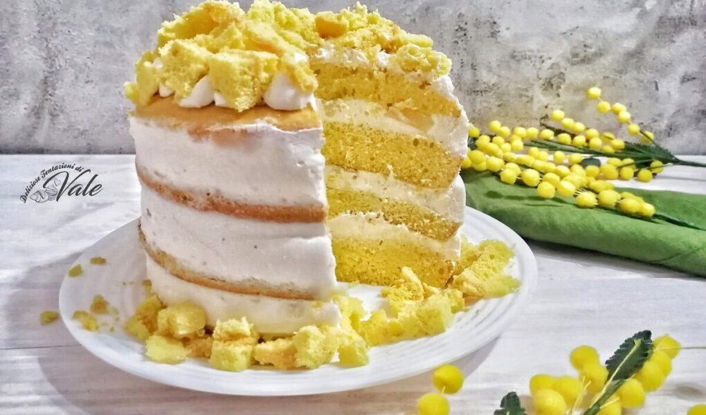 Torta Mimosa Nuda