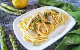 Spaghetti con Asparagi e Limone