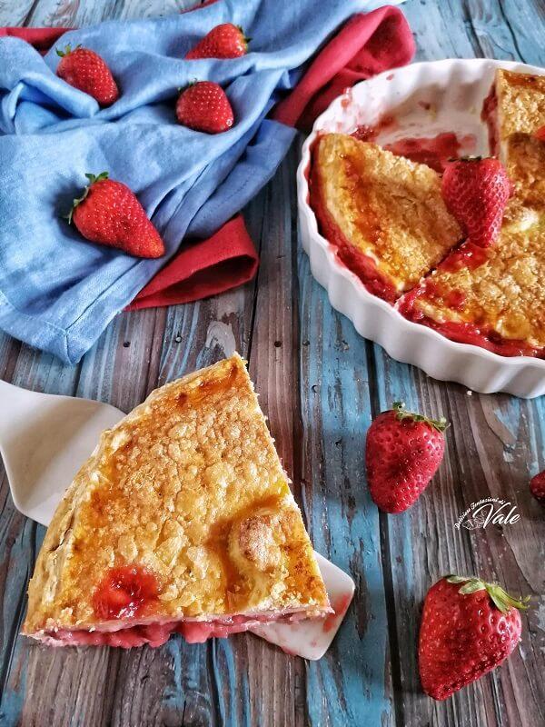 Strawberry Pie-crostata di fragole