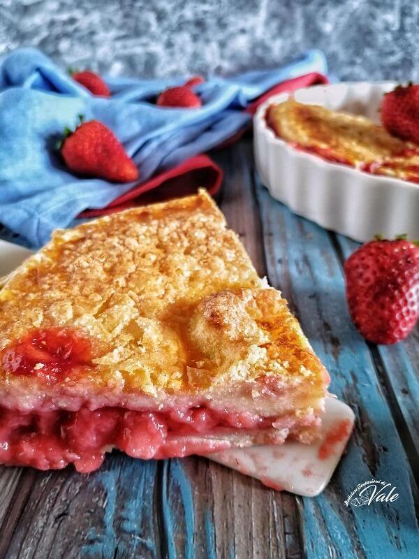 Strawberry Pie ricetta americana