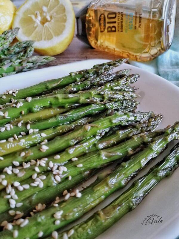 Asparagi in Agrodolce glassati