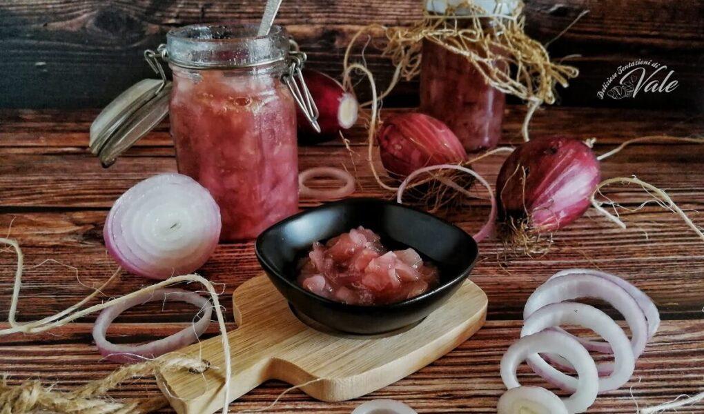Conserva di Cipolle in Agrodolce