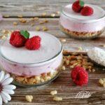 Dessert Lamponi e Cocco