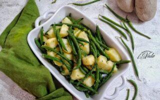 Fagiolini e Patate all'Insalata