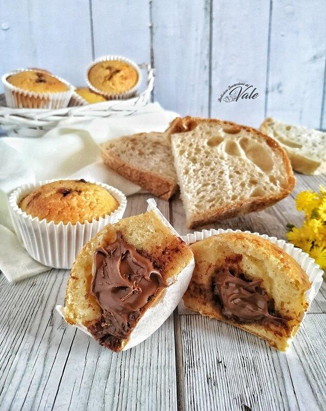 Muffin di Pane raffermo
