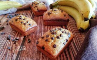 Plumcake Banane e Gocce di Cioccolato