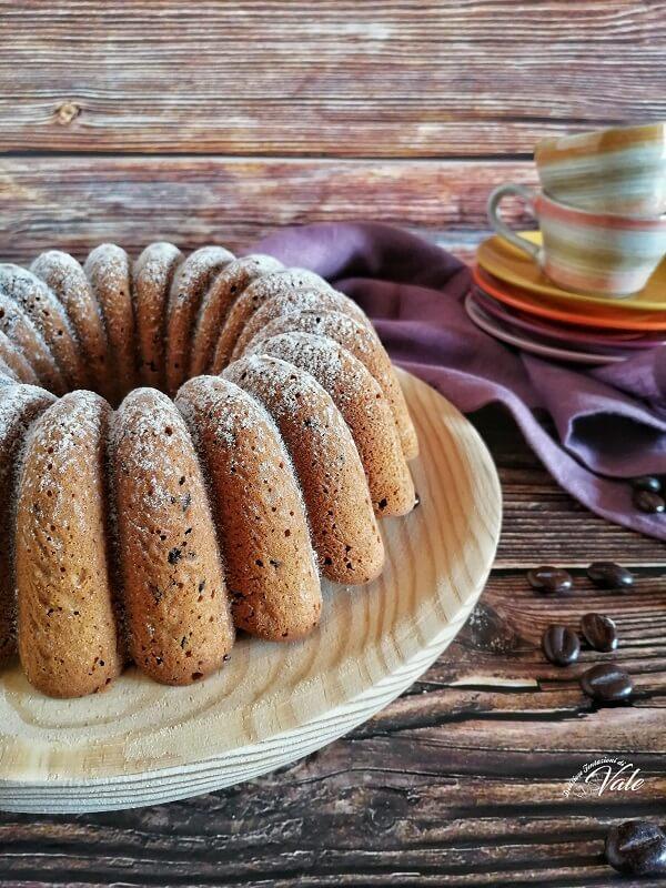 Ciambella al Caffè con Gocce di Cioccolato