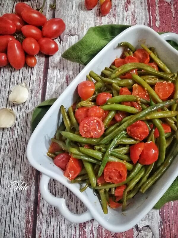 Fagiolini al Pomodoro in padella