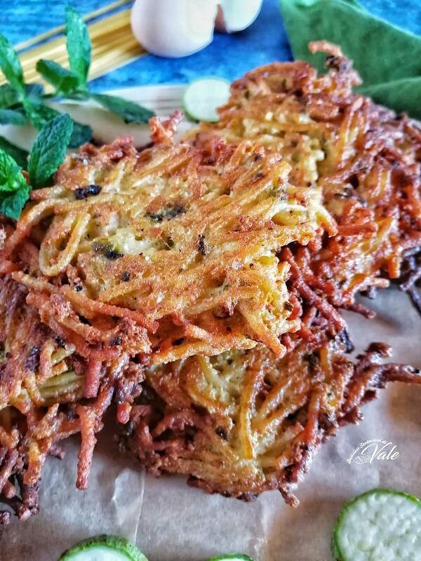 Frittatine alla Pasta e Zucchine