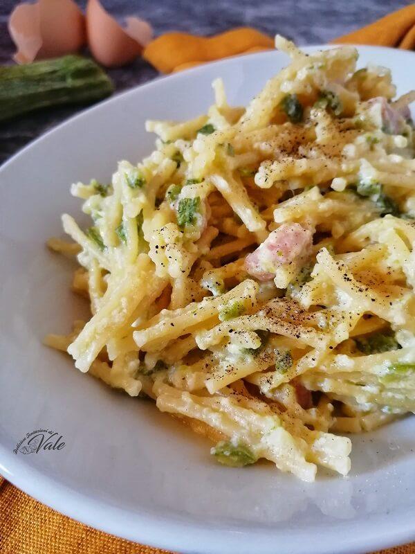 Pasta e Zucchine ricetta Napoletana