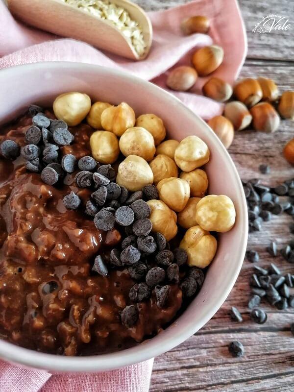 Porridge d'Avena al Cioccolato
