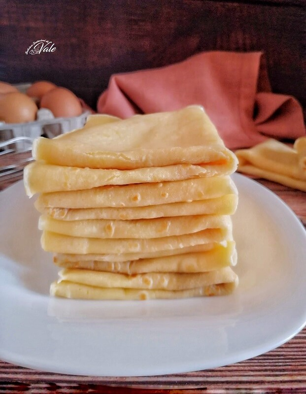Ricetta Base Crepes