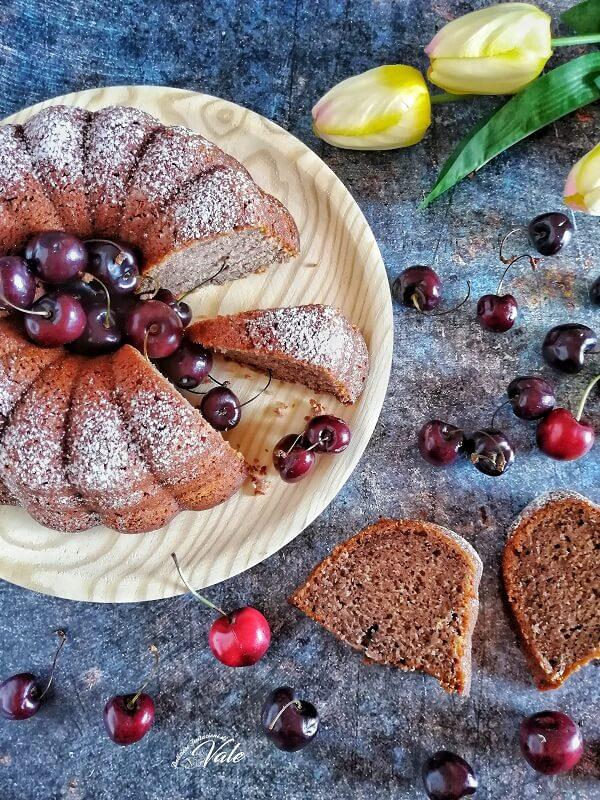Torta di Ciliegie Frullate, Pan di Ciliegie
