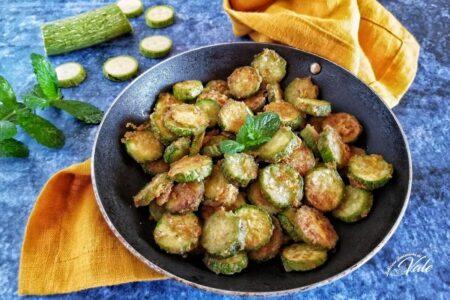 Zucchine Infarinate cotte in padella