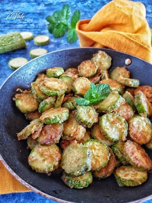 Zucchine Infarinate in padella