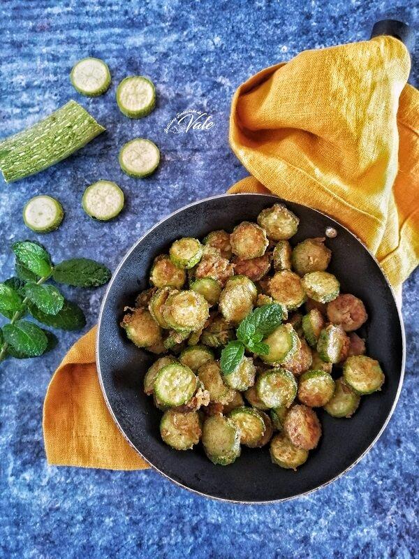 Zucchine Infarinate
