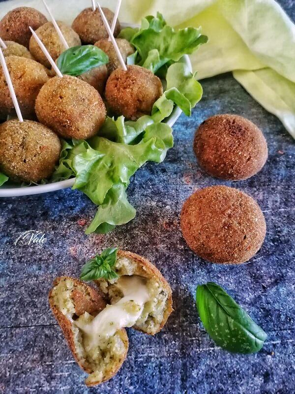 Crocchette di Patate al Pesto filanti