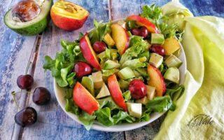 Insalata con Frutta e Verdura