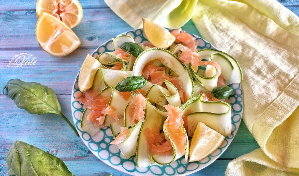 Insalata di Zucchine e Salmone Affumicato