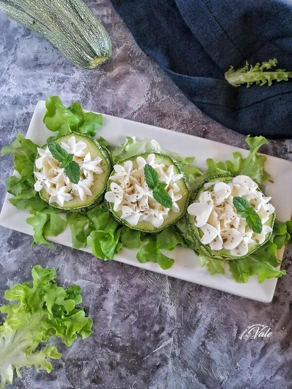 Millefoglie di Zucchine fredde