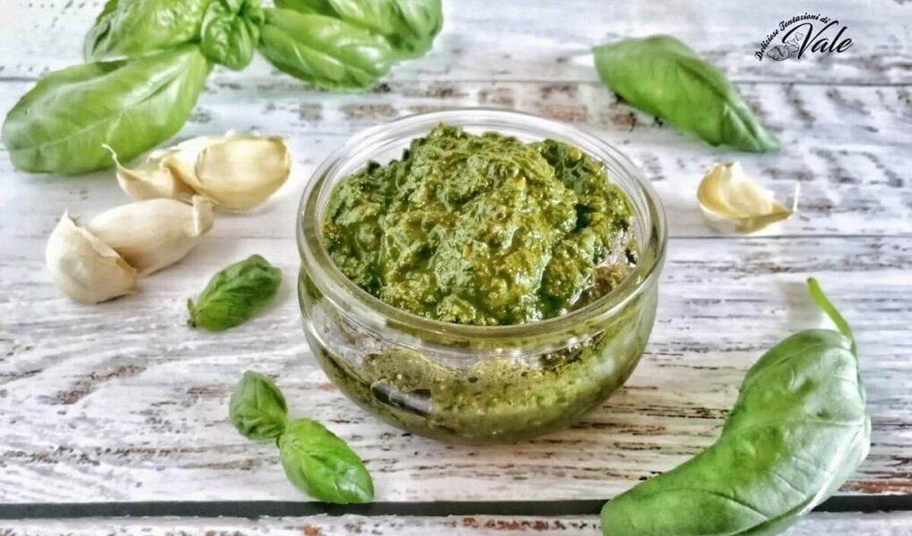 Pesto al Basilico-Pesto alla Genovese