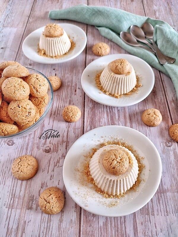 Semifreddo agli Amaretti ricetta semplice