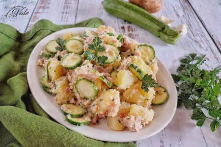 Insalata di Patate con Tonno e Zucchine
