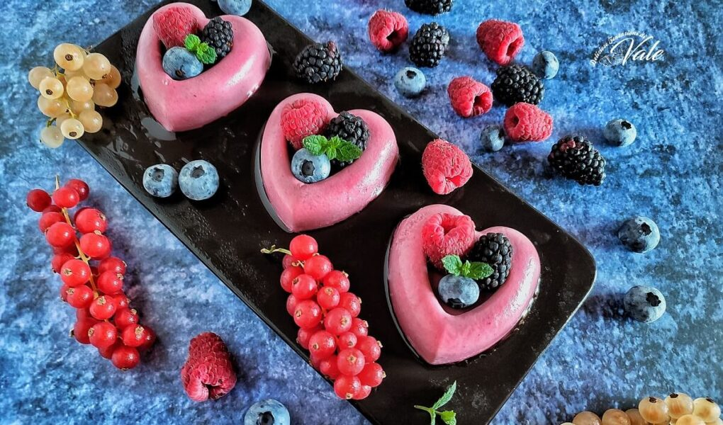 Panna Cotta ai Frutti di Bosco