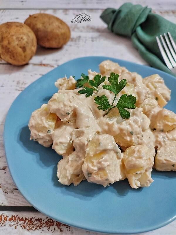 Patate Tonnate con e senza uova
