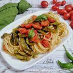Spaghetti con Friggitelli al Pomodoro