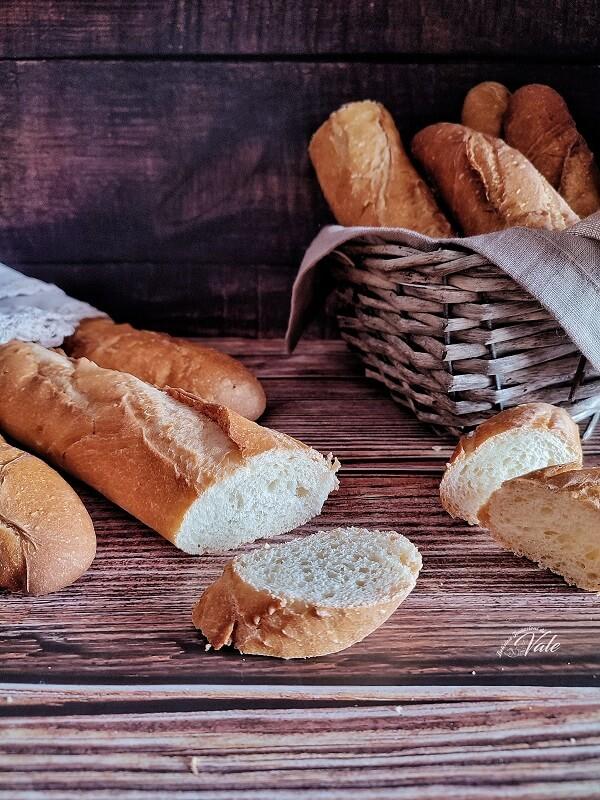 Baguette con Lievito di Birra