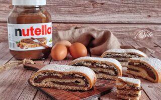 Biscotti Arrotolati alla Nutella