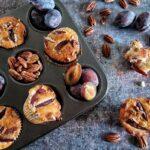 Muffin Prugne e Noci Pecan