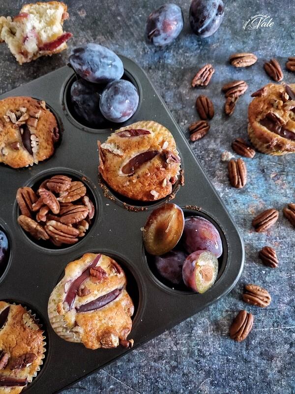 Muffin Susine e Noci